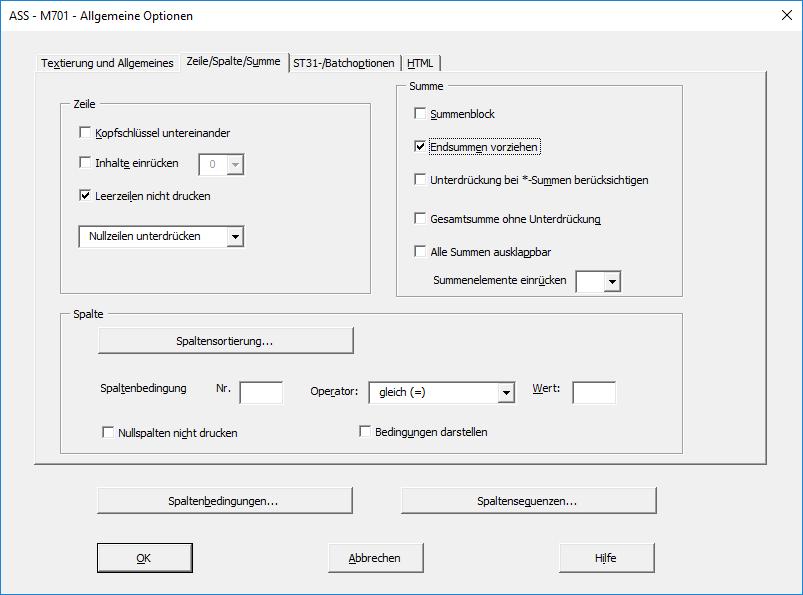 ASS 8.40 - Auswertung ASS-Excel - UBA Software
